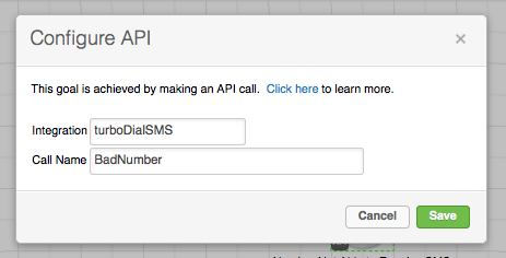 Bad Number SMS API Goal