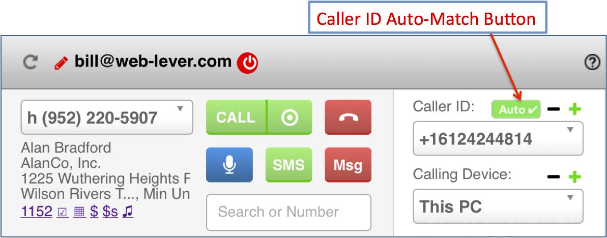 CallerIDAutoMatch